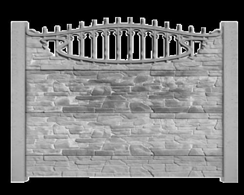 Еврозаборы бетонные
